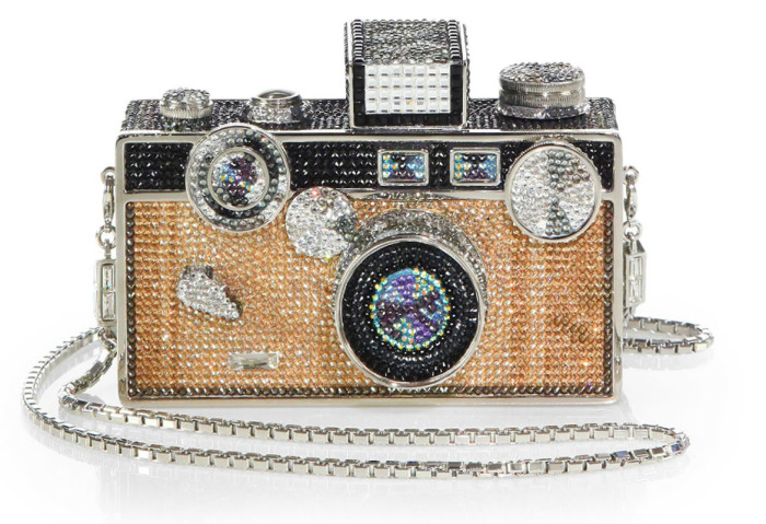 Judith Lieber Camera Clutch