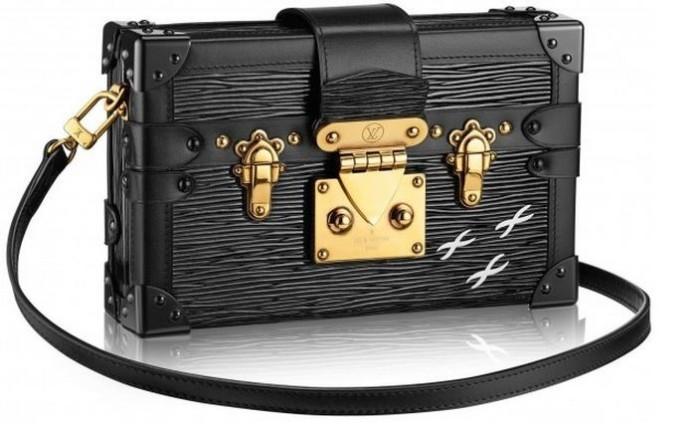 Louis Vuitton - 2014 FW Petite Malle Epi Black