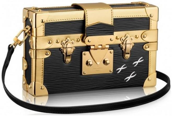 Louis Vuitton - 2014 FW Petite Malle Epi Mettalic Electrique