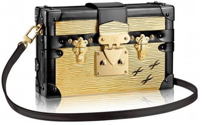 Louis Vuitton - 2014 FW Petite Malle Epi Mettalic Gold