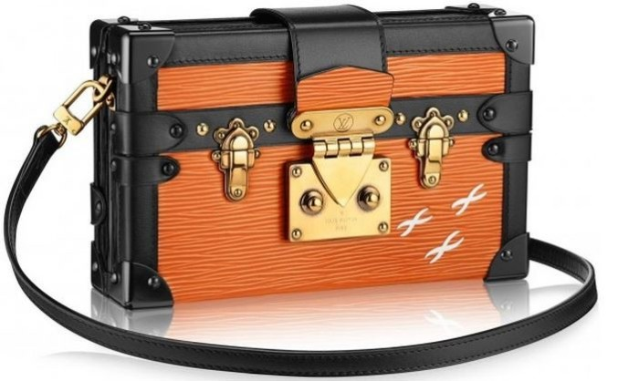 Louis Vuitton - 2014 FW Petite Malle Epi Orange