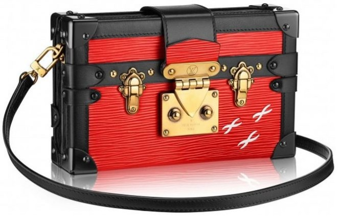Louis Vuitton - 2014 FW Petite Malle Epi Red