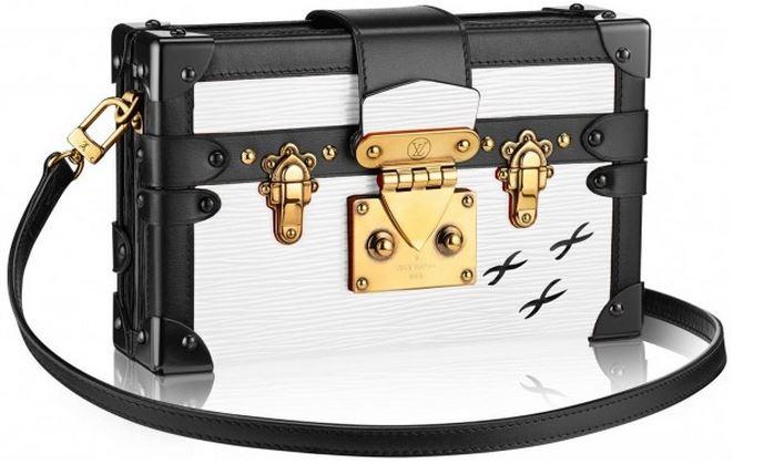 Louis Vuitton - 2014 FW Petite Malle Epi White