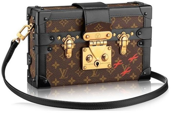 Louis Vuitton - 2014 FW Petite Malle Monogram Canvas