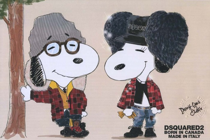 Snoopy and Belle in Fashion 1