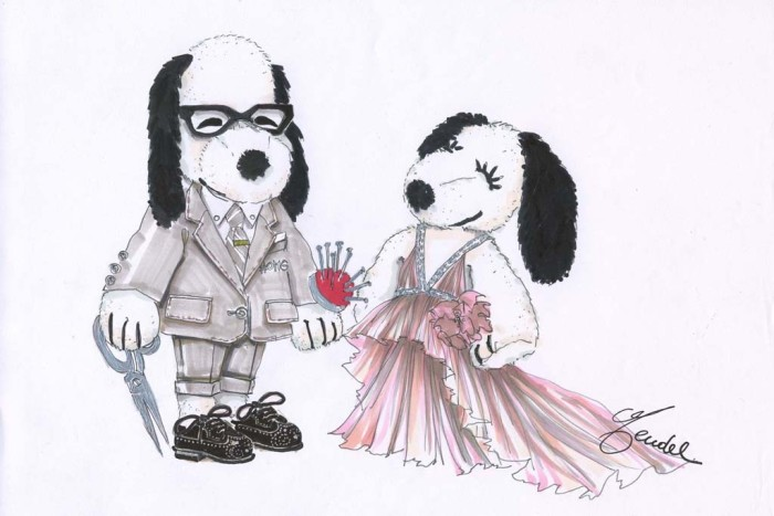 Snoopy and Belle in Fashion 4
