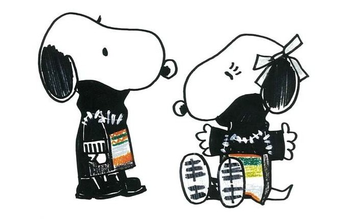 Snoopy and Belle in Fashion 7