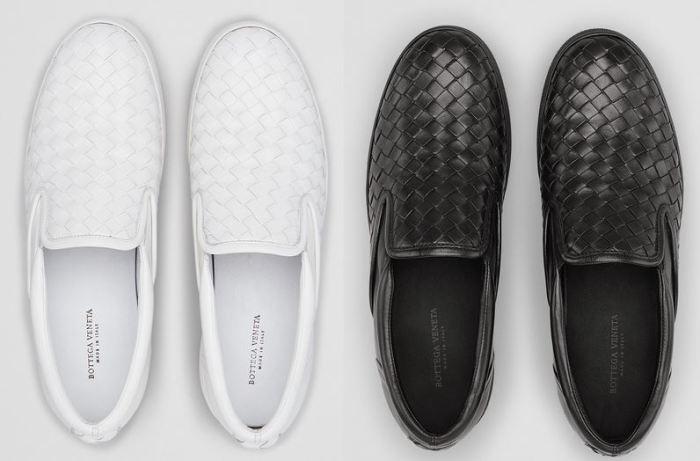 Bottega Veneta Intrecciato Nappa Slip-On Sneakers 2