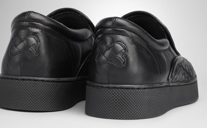 Bottega Veneta Intrecciato Nappa Slip-On Sneakers 4