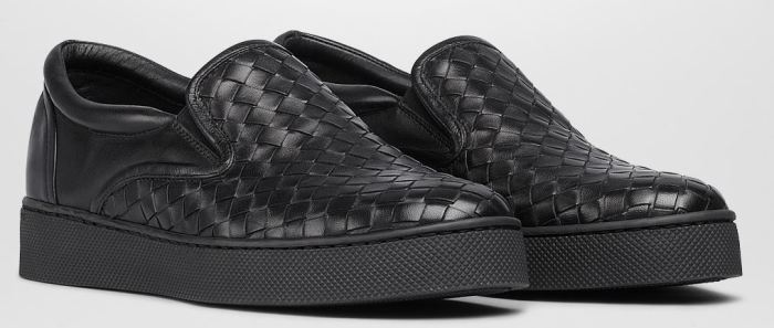 Bottega Veneta Intrecciato Nappa Slip-On Sneakers 5