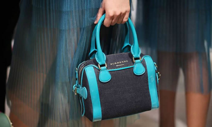 Burberry Mini Bee - Denim Bag 1