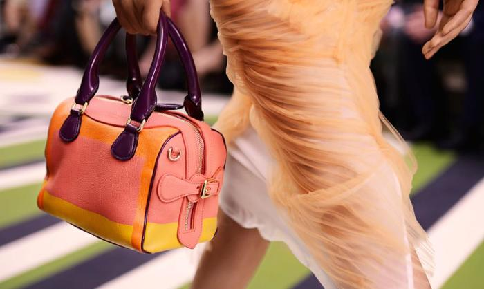 Burberry Mini Bee - Hand Painted Leather Bag 1