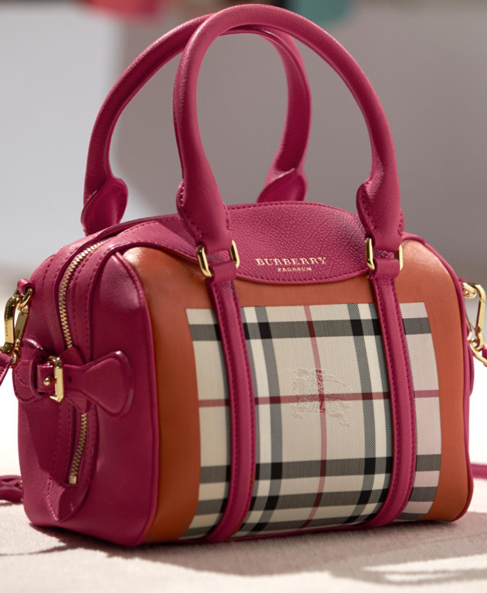 Burberry Mini Bee - Horseferry Check Bag 1.jpg