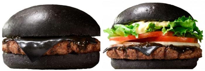 Burger King Kuro Burger 1