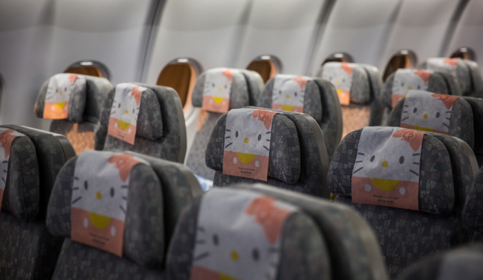 Eva Air Hello Kitty Paris Flight 4