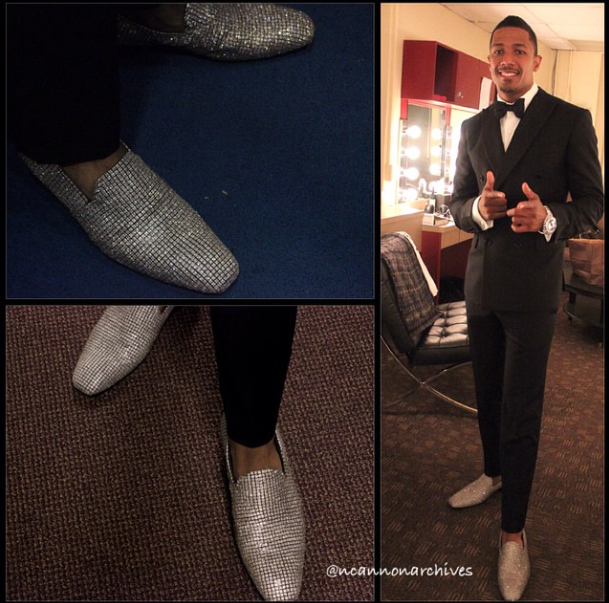 Nick Cannon's $2M Tom Ford Loafers 2
