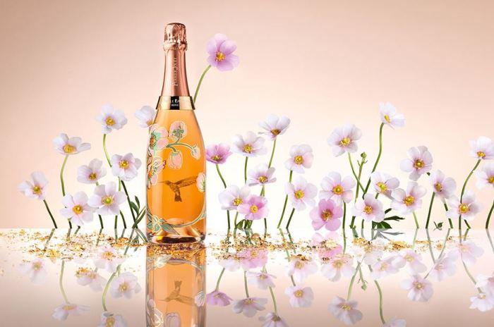 Perrier Jouët Belle Epoque Rosé Vik Muniz Bottle 1