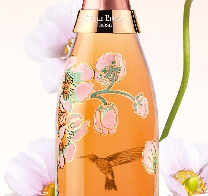 Perrier Jouët Belle Epoque Rosé Vik Muniz Bottle 2