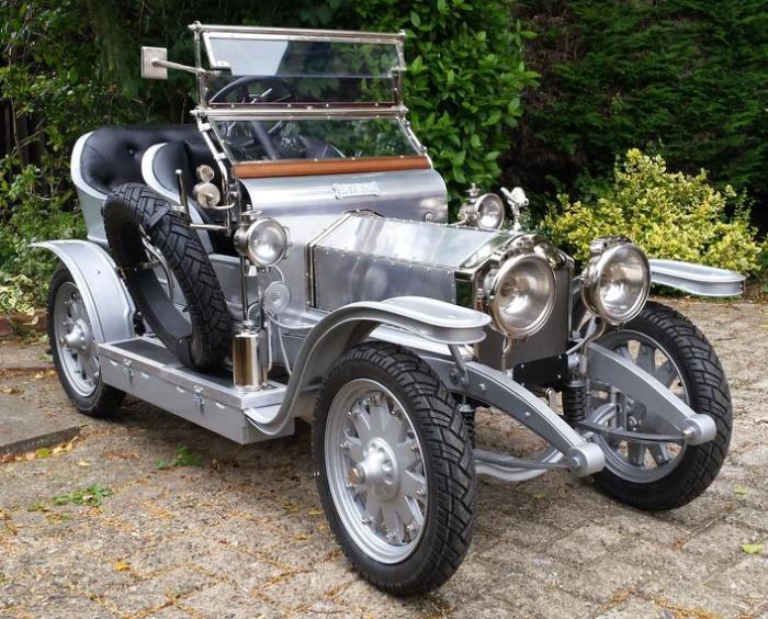Rolls-Royce Half Scale Silver Ghost 1