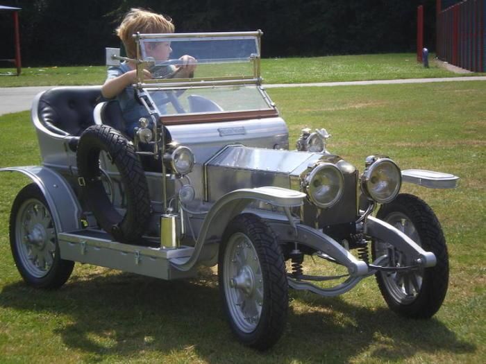 Rolls-Royce Half Scale Silver Ghost 2