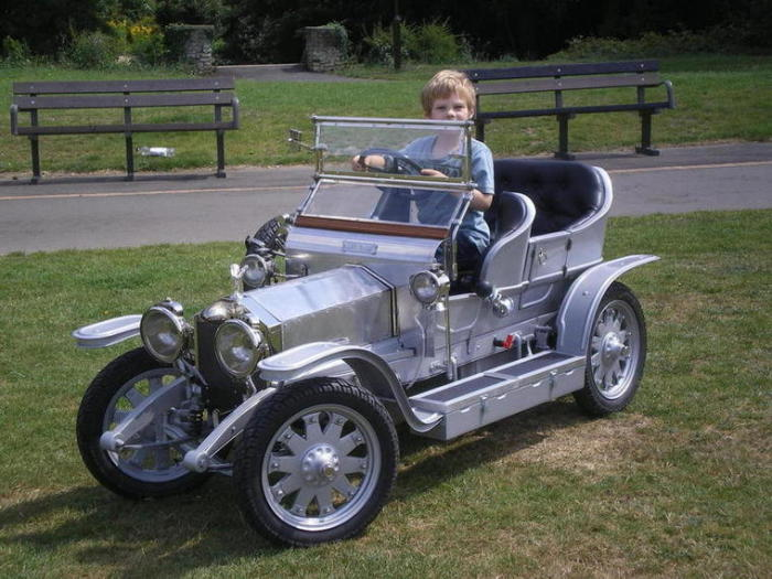 Rolls-Royce Half Scale Silver Ghost 3