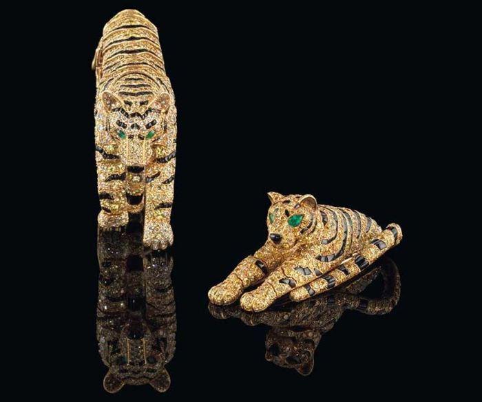 Cartier Wallis Simpson Tiger Jewelry 1