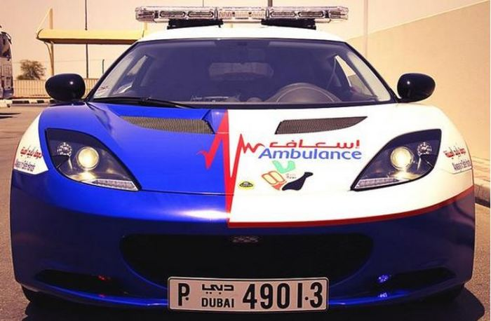 Dubai's Supercar Ambulance Fleet 1