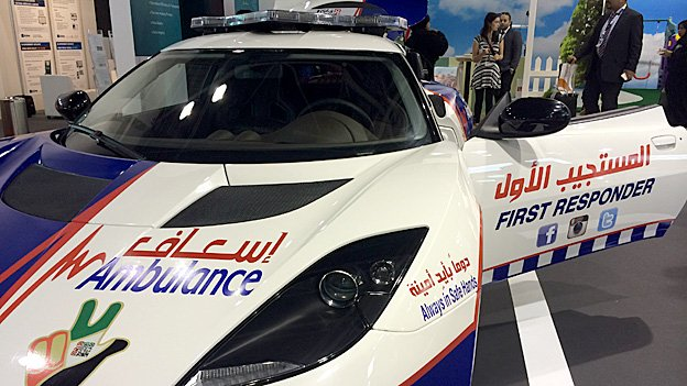 Dubai's Supercar Ambulance Fleet 2