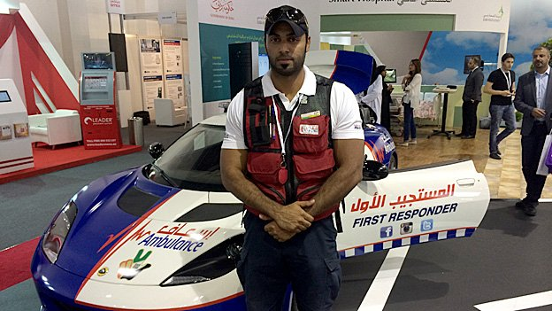 Dubai's Supercar Ambulance Fleet 3