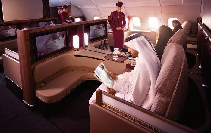 Qatar Airways A380 First Class Suites 1