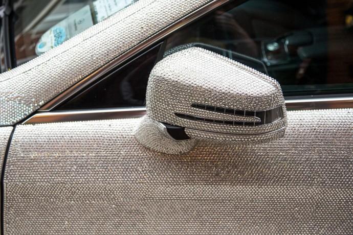 Swarovski Crystal Studded Mercedes CLS 350 3