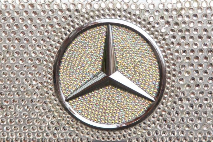Swarovski Crystal Studded Mercedes CLS 350 4