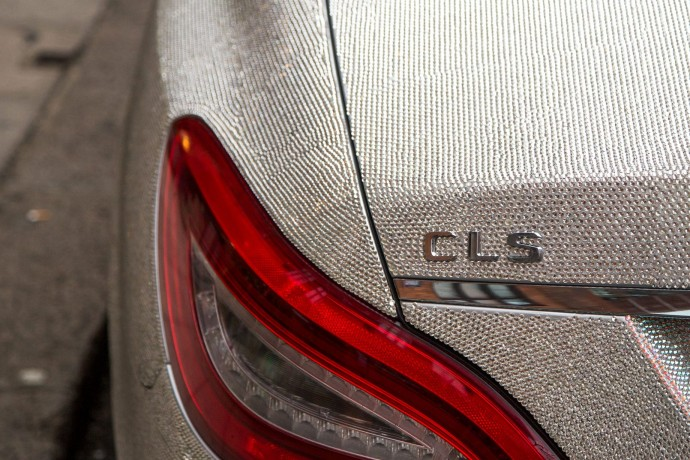 Swarovski Crystal Studded Mercedes CLS 350 5