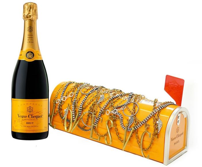 Veuve Clicquot - Pamela Love and Lulu Frost Mail Box 1
