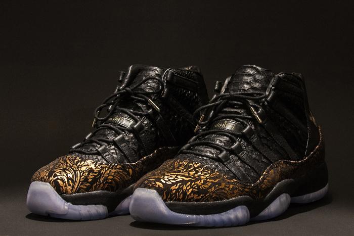 Black House Jordan XI 4