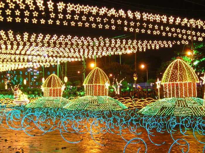 Christmas Lights - Medellin, Columbia