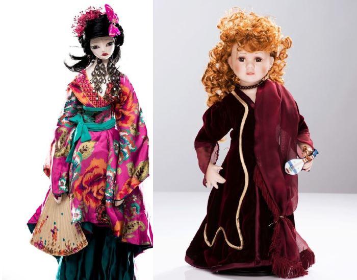 Designer Dolls For UNICEF France 2
