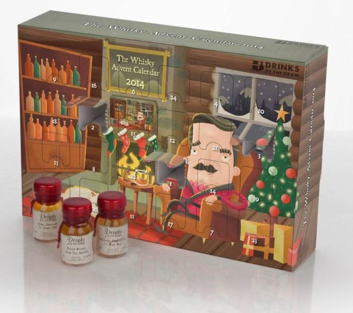 Drinks By The Dram Premium Whisky Advent Calendar 1