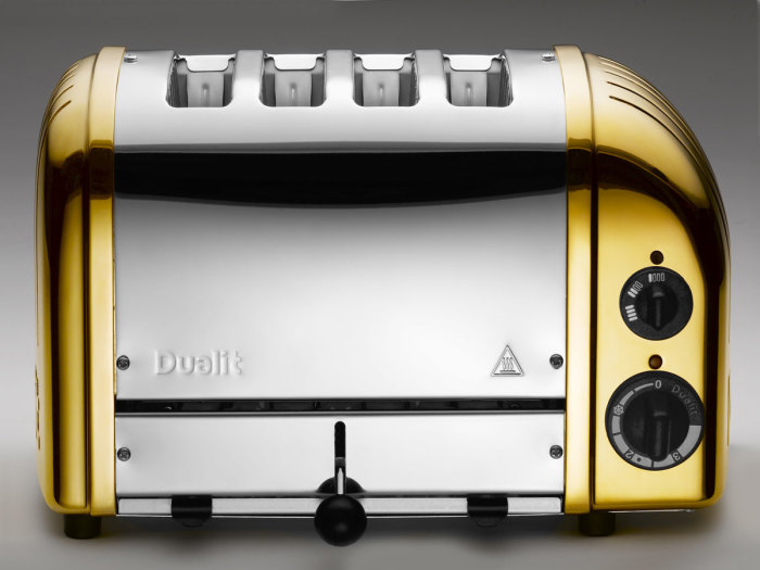 Dualit Gold-Plated Toaster 1