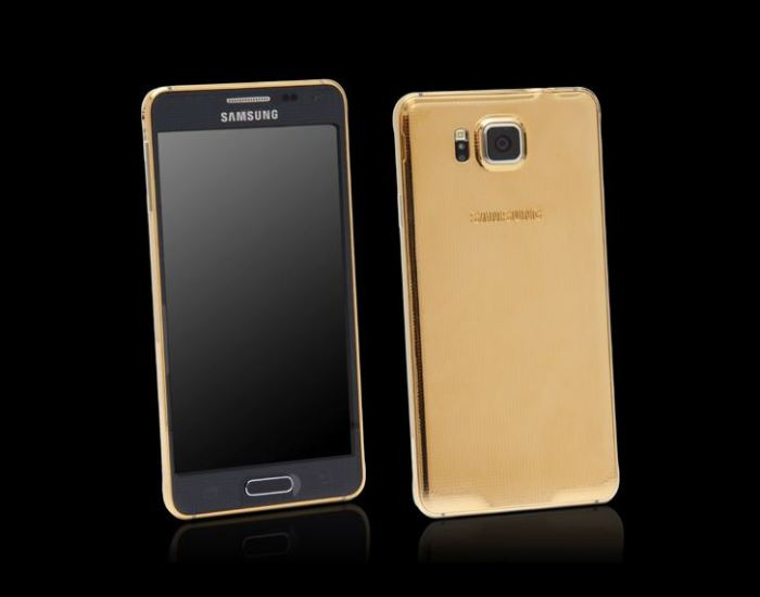 Goldgenie Samsung Galaxy Alpha 1