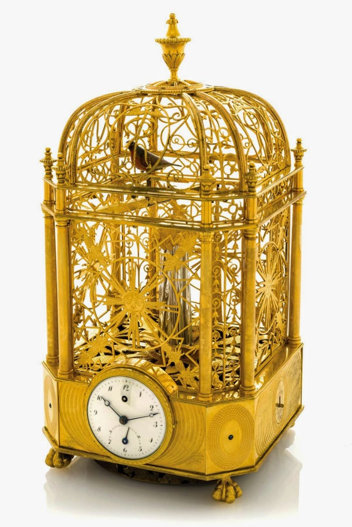 Jaquet Droz Bird Cage Clock 1