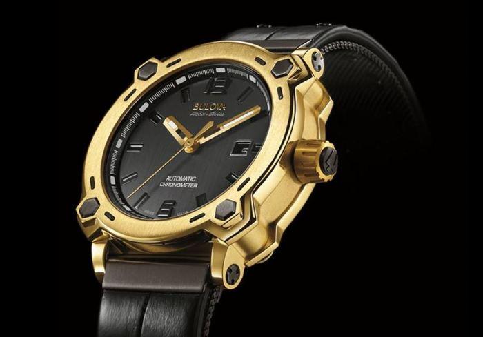 Joseph Bulova Collection First Edition 24 Karat Gold Timepiece 1