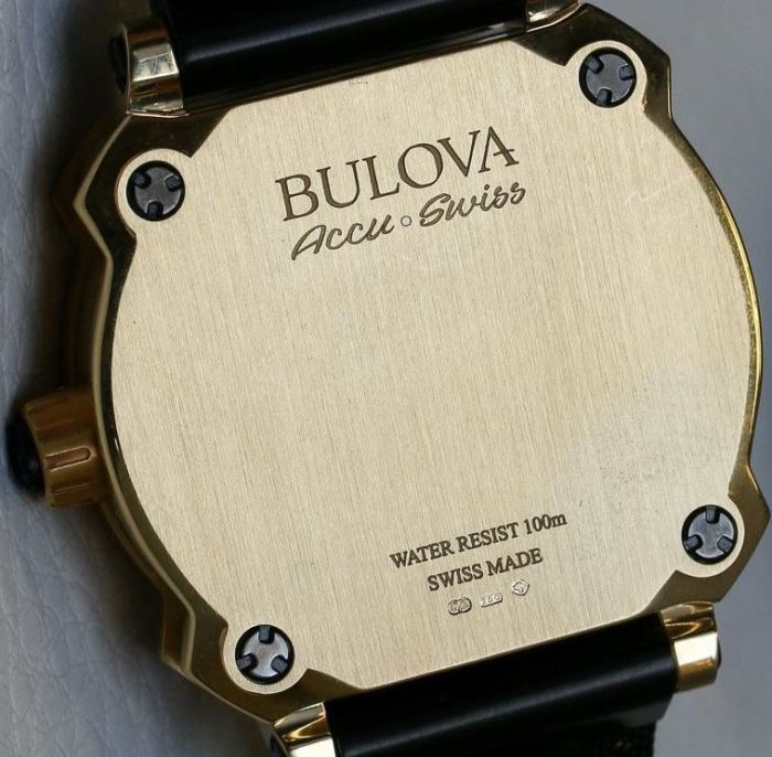 Joseph Bulova Collection First Edition 24 Karat Gold Timepiece 5