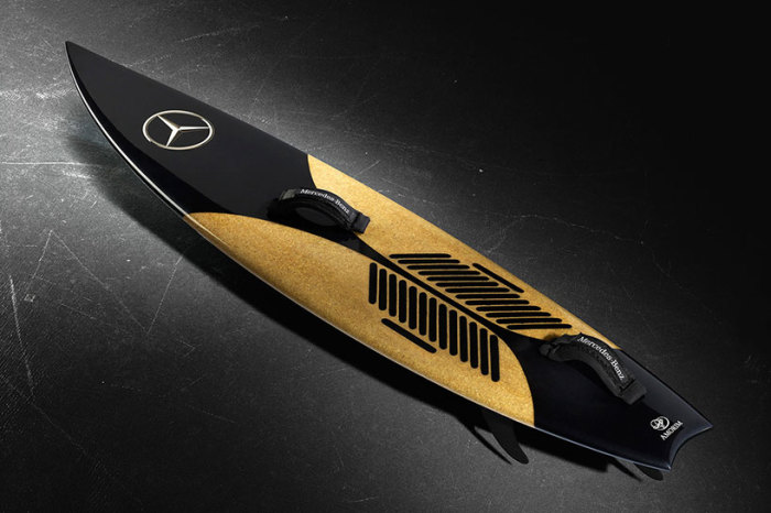 Mercedes Benz Surfboard Made Of Portuguese Cork 1