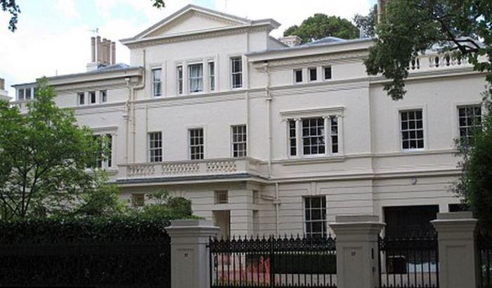 Roman Abramovich Kensington Palace Gardens