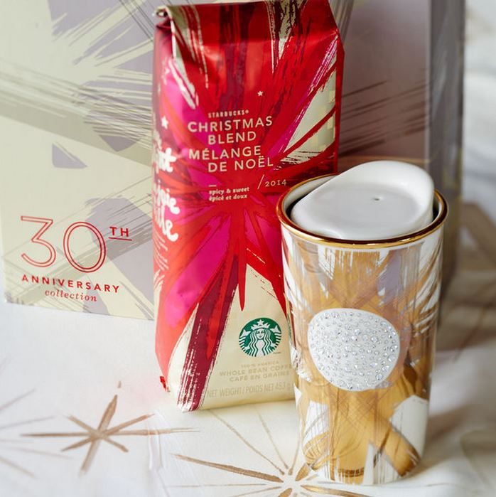 Starbucks Swarovski 2014 Holiday Collection 2