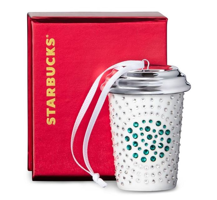 Starbucks Swarovski 2014 Holiday Collection 3