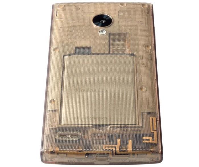 Firefox Fx0 Transparent Phone 4