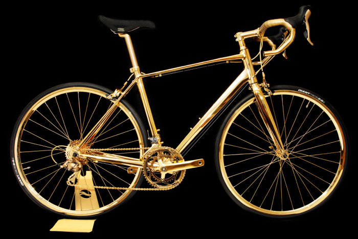 Goldgenie 24K Gold Men's Racing Bike 1