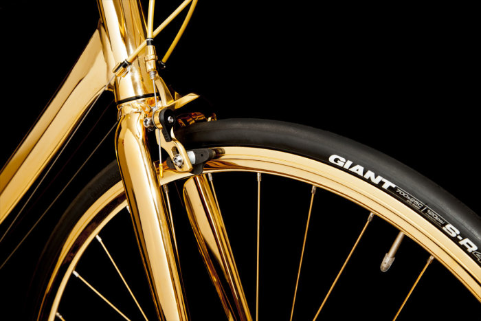Goldgenie 24K Gold Men's Racing Bike 3